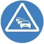 Icono Congestión Trafico color
