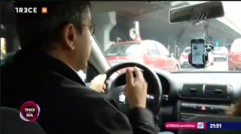 Reportaje sobre compartir coche al trabajo con la app DedoCar aparecido en TRECE Televisión.